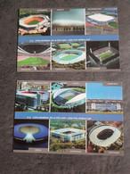 Allemagne 12 Stades De La WC 2006 Lot De 2 Cartes - Sin Clasificación