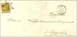 Etoile / N° 1 Càd PARIS (60) Sur Imprimé Pour Angoulème. 1852. - TB / SUP. - R. - 1849-1850 Ceres