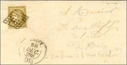 Grille / N° 1 Belles Marges Càd T 13 BRIEY (55) Sur Lettre Locale. 1851. - TB / SUP. - R. - 1849-1850 Ceres