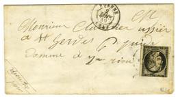 Càd T 15 ROANNE (84) 2 JANV. 49 / N° 3 (leg Def). - TB. - R. - 1849-1850 Ceres