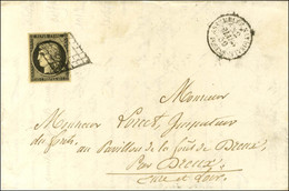 Grille / N° 3 Càd ASSEMBLÉE NATIONALE / POSTES. 1850. - TB / SUP. - 1849-1850 Ceres