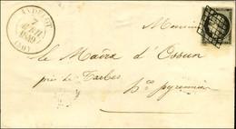 Grille / N° 3 Noir Sur Blanc Càd T 13 ANDELOT (50). 1849. - TB / SUP. - 1849-1850 Ceres