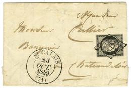 Grille / N° 3 Càd T 13 ST CALAIS (71). 1849. - SUP. - 1849-1850 Ceres