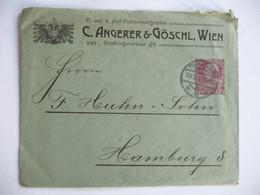 Austria - 1909 - Brief - Angerer & Goschl - Lettres & Documents