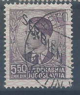 Jugoslavia - Serbia - Occupazione - 1941 - Usato/used - Overprint - Mi N. 9 - Usati