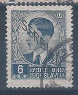 Jugoslavia - Serbia - Occupazione - 1941 - Usato/used - Overprint - Mi N. 10 - Usati