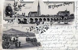 METZ Gruss Aus Dem 16e Armée-corps - Metz