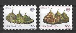 EUROPA CEPT SAINT-MARIN ( N° 933/934) NEUF** - 1977