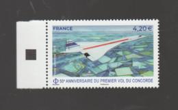 FRANCE / 2019 / Y&T PA N° 83 ** : Concorde (de Feuille) X 1 BdF G - 1960-.... Ungebraucht