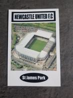 Newcastle Stade St James Park Référence Postcard Photo Me - Sin Clasificación
