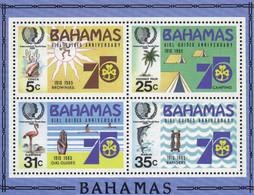 Ref. 37948 * NEW *  - BAHAMAS . 1985. 75th ANNIVERSARY OF THE SCOUTS. 75 ANIVERSARIO DEL ESCULTISMO - Bahamas (1973-...)
