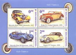 Ref. 197472 * NEW *  - BOSNIA-HERZEGOVINA . 2006. VINTAGE CARS. AUTOMOVILES ANTIGUOS - Bosnia And Herzegovina