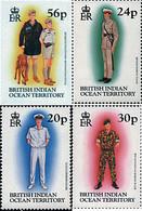 Ref. 51079 * NEW *  - BRITISH INDIAN OCEAN TERRITORY . 1996. MILITARY UNIFORMS. UNIFORMES MILITARES - British Indian Ocean Territory (BIOT)