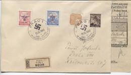 Böhmen Und Mähren # 83-4 R-FDC Sonderstempel #86d Prag 15.3.42 - FDC