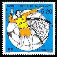 ST-PIERRE ET MIQUELON 1997 - Yv. 643 **   Faciale= 0,79 EUR - Sport : Le Volley  ..Réf.SPM12130 - Unused Stamps