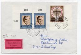 OSTERREICH POLITIKER OTTO BAUER 100 GEBURTSTAG  EXPRES 1981 - FDC