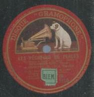 """70 ) 78 Tours 30cm  GRAMOPHONE 1150  """" LE PECHEURS DE PERLES """"  + """" LA GIOCONDA """" BENIAMINO GIGLI - 78 G - Dischi Per Fonografi"""