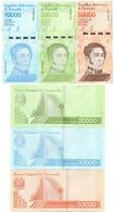 Venezuela - Set 3 Banknotes 10000 20000 50000 Bolivares 2019 UNC Lemberg-Zp - Venezuela