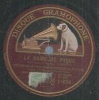 """74 ) 78 Tours 30cm  GRAMOPHONE 834  """" LA DAME DE PIQUE """"  + """" LA DAME DE PIQUE """" Orch. PHILHARMONIQUE DE VIENNE - 78 G - Dischi Per Fonografi"""