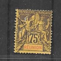 CD97 Réunion N°43 Obl. Réparé - Oblitérés