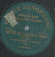 """77 ) 78 Tours 30cm  ZONOPHONE 080540  """" PORT'MOI SUR L'BALCON """"  + """" HOP! EH! HA! DI! OHE  """" ORCHESTRE VESTRIS - 78 G - Dischi Per Fonografi"""