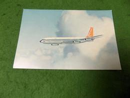 VINTAGE TRANSPORT AVIATION: AIR South African Airways Boeing 707 Stratojet Souvenir Card Colour - 1946-....: Modern Era