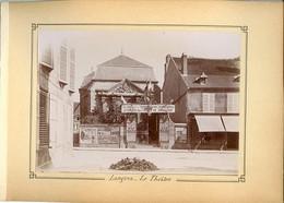 Langres 52200 Le Théâtre RARE 056CP08 - Orte