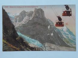 Switzerland 146 Wetterhorn Cablecar Aufzug Grindelwald Glacier - BE Berne