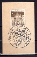 Kartenstueck, Stettin, SoSt Coburg 1968 (99503) - Machine Stamps (ATM)