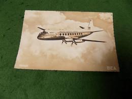 VINTAGE TRANSPORT AVIATION: AIR - BEA Viscount Sepia Jaeger - 1946-....: Modern Era