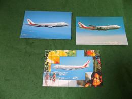 VINTAGE TRANSPORT AVIATION: AIR - Wardair Canada X3 Boeing 747 Colour - 1946-....: Modern Era