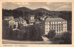 ¤¤ -    ALLEMAGNE    -   BADEN-BADEN   -  Städt Krankenhaus   -  ¤¤ - Baden-Baden