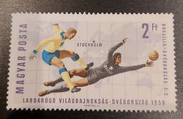 Magyar Posta Labdarúgó Világbajnokság Svedorszag Stockholm 1958 - Andere