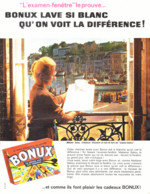 """PUB  ( FINISTERE )   """" AUDIERNE  """" Et  BONUX  1960 - Bretagne"""