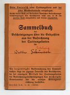Y8406/ Sammelbuch Der Bescheinigungen ü..d. Endzahlen, Versicherung, Schönebeck  - Unclassified