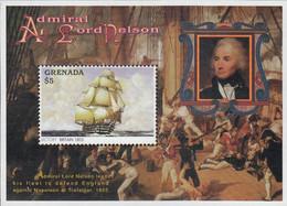 Granada 1996 Admiral Lord Nelson / Ship Victory Michel BL430 - Grenada (1974-...)