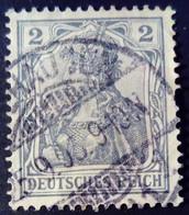 Allemagne Germany Deutschland 1902 Sans Filigrane Yvert 66 O Used - Gebraucht