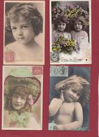 """France 10 Cartes Postales """"Portraits D 'Enfants""""--Années 1905/06 Dans L 'état Lot N °41 - Portraits"""