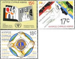 Ref. 114856 * NEW *  - CYPRUS . 1990. ANNIVERSARIES AND EVENTS. ANIVERSARIOS Y ACONTECIMIENTOS - Nuevos