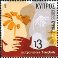 Ref. 198353 * NEW *  - CYPRUS . 2006. ORGANS TRANSPLANT. TRASPLANTE DE ORGANOS - Nuevos