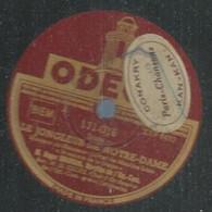 """88 ) 78 Tours 30cm  ODEON 171016  """" LE JONGLEUR DE NOTRE-DAME """" + """" LAKME """" Roger BOURDIN - 78 G - Dischi Per Fonografi"""