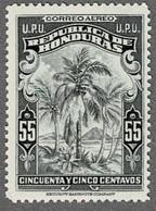 Honduras 1943  55 C * - Kokospalme - - Honduras