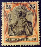 Allemagne Germany Deutschland 1905 Filigrane A Yvert 86 O Used - Gebraucht