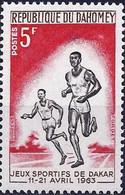 DAHOMEY - Course - Jeux Sportifs De Dakar - Athletics