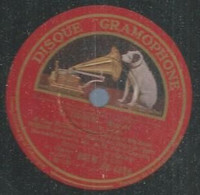 """93 ) 78 Tours 30cm  GRAMOPHONE 4869  """" LE TROUVERE """" + """" RIGOLETTO """" César VEZZANI - 78 G - Dischi Per Fonografi"""
