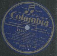 "93 ) 78 Tours 30cm  COLUMBIA 183  "" FAUST - Acte III "" + "" FAUST - Acte III "" Marthe NESPOULOUS - 78 G - Dischi Per Fonografi"