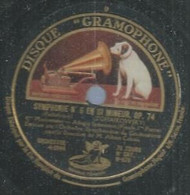 "94 ) 78 Tours 30cm  GRAMOPHONE 878  "" SYMPHONIE N° 6 "" + "" SYMPHONIE N° 6 "" ORCHESTRE SYMPHONIQUE DU GRAMOPHONE - 78 G - Dischi Per Fonografi"