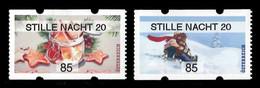 Austria 2020 Mih. A64/A67 Christmas MNH ** - Affrancature Meccaniche Rosse (EMA)