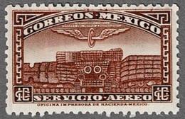 Mexiko 1934 * 10 C - Tempel - - Messico