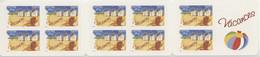 BC 3788-BC53 Y.T. Neuf** Carnet Timbre Pour Vacances Autoadhésifs 2005 - Adhesive Stamps